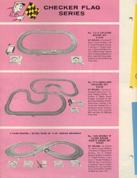 Atlas 1963 Slot Car Flyer Page Two