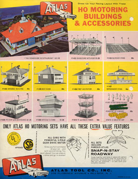 Atlas 1963 Slot Car Flyer Page Four