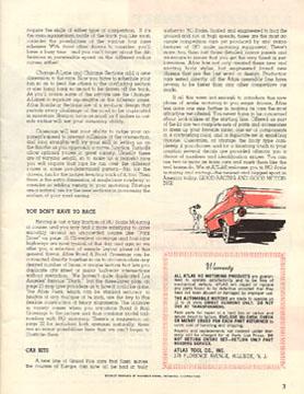 Atlas 1964 Slot Car Layout Manual Page Three