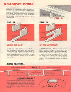 Atlas 1964 Slot Car Layout Manual Page Five