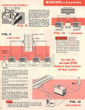 Atlas 1964 Slot Car Layout Manual Page Six