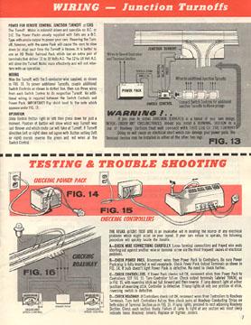 Atlas 1964 Slot Car Layout Manual Page Seven