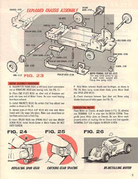 Atlas 1964 Slot Car Layout Manual Page Nine