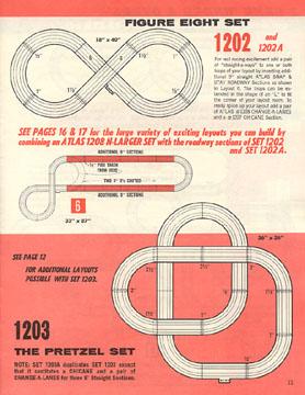 Atlas 1964 Slot Car Layout Manual Page Eleven