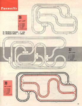 Atlas 1964 Slot Car Layout Manual Page Nineteen