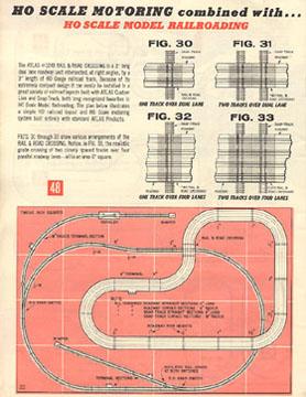 Atlas 1964 Slot Car Layout Manual Page Twenty Two