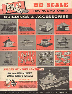 Atlas 1964 Slot Car Layout Manual Page Twenty Three