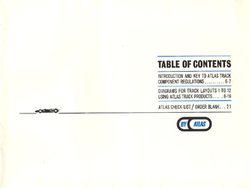 Atlas 1966 Slot Car Road Course Layout Manual Page Five