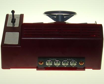 Atlas HO Scale Slot Car Dashboard Speed Control Back Panel
