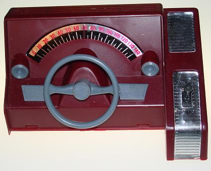 Atlas HO Scale Slot Car Dashboard Speed Control Front Panel