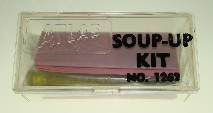 Atlas HO Scale Slot Car First Issue Soup Up Kit