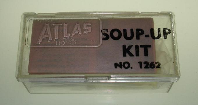 Atlas HO Scale Slot Car Second Issue Soup Up Kit