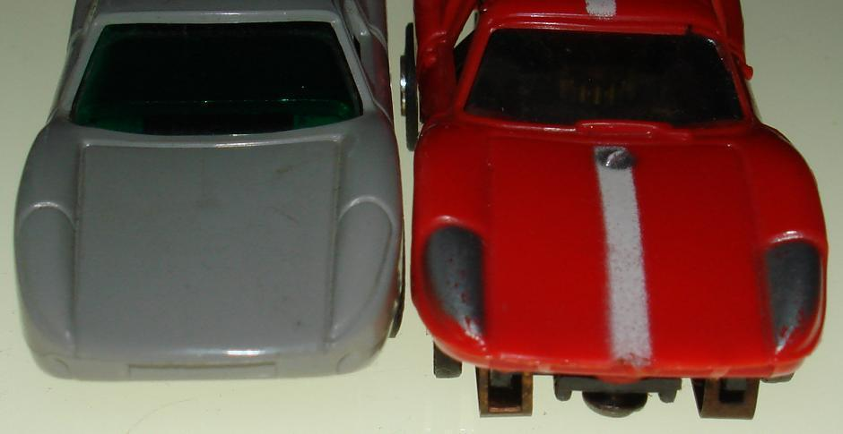 Atlas Aurora Porsche Headlight Comparison