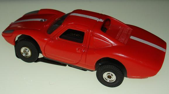 Atlas Aurora HO Scale Porsche 906 Comparison Body Rear View