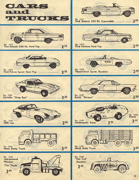 1963 Aurora Model Motoring Thunderjet 500 Service Manual Page 29