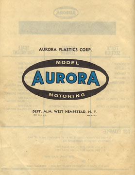 1963 Aurora Model Motoring Thunderjet 500 Service Manual Page 32
