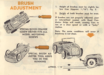 1962 Aurora Model Motoring Vibrator Slot Car Hop Up Hints Page 05