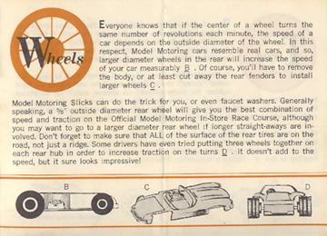 1962 Aurora Model Motoring Vibrator Slot Car Hop Up Hints Page 07
