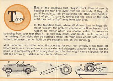 1962 Aurora Model Motoring Vibrator Slot Car Hop Up Hints Page 08