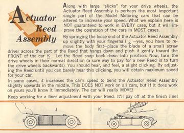 1962 Aurora Model Motoring Vibrator Slot Car Hop Up Hints Page 09