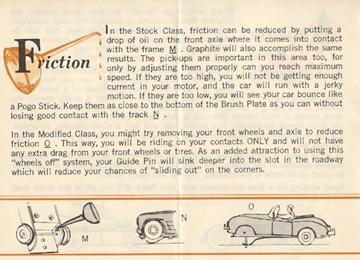 1962 Aurora Model Motoring Vibrator Slot Car Hop Up Hints Page 10