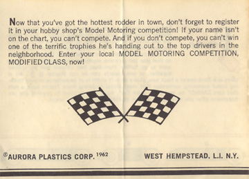 1962 Aurora Model Motoring Vibrator Slot Car Hop Up Hints Page 12