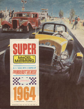 1964 Aurora Super Model Motoring Thunderjet 500 Flyer Page 01