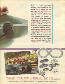 1964 Aurora Super Model Motoring Thunderjet 500 Flyer Page 03