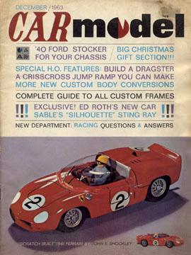 Car Model December 1963
