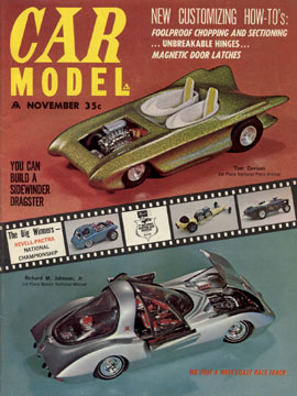 Car Model November 1963