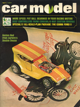 Car Model May 1964 Vintage Slot Car Racing Magazine