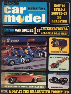 Car Model January 1965