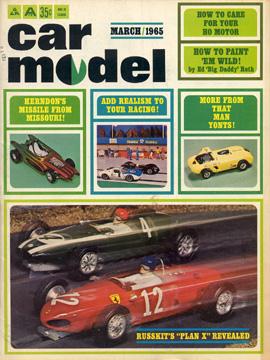 Car Model MArch 1965