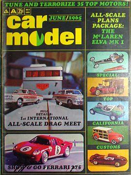 Car Model June 1965