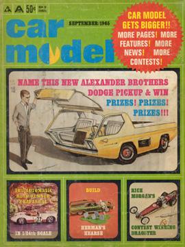 Car Model September 1965