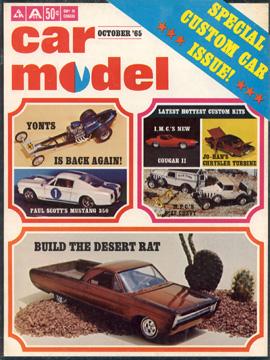 Car Model October 1965