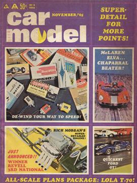 Car Model November 1965