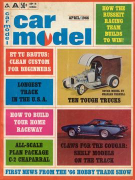 Car Model April 1966