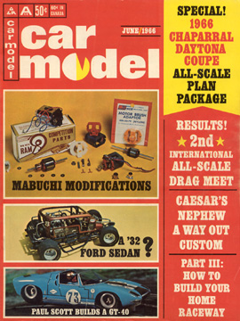 Car Model June 1966