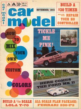 Car Model November 1966
