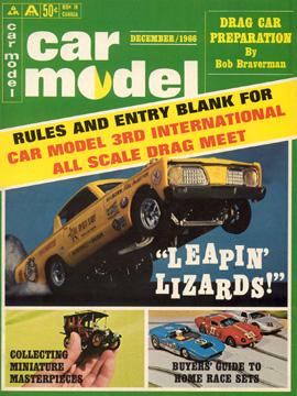 Car Model December 1966 Vintage Slot Car Racing Magazine