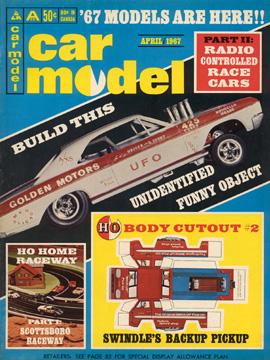 Car Model April 1967