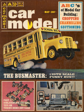Car Model May 1967