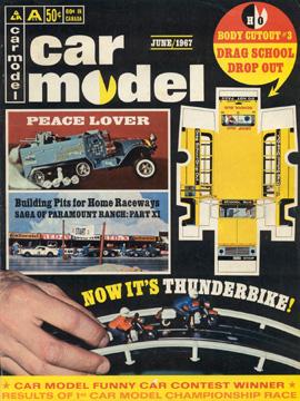 Car Model June 1967