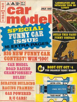 Car Model July 1967