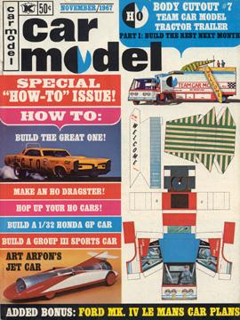 Car Model November 1967