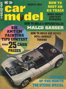 Car Model March 1969