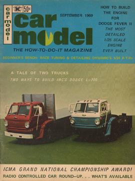 Car Model September 1969