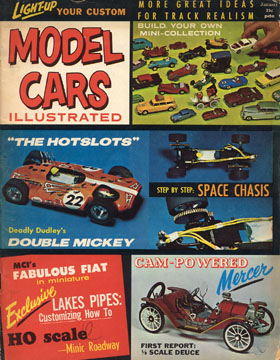 Model Cars Illustrated January 1964