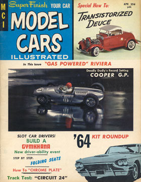 Model Cars Illustrated April 1964